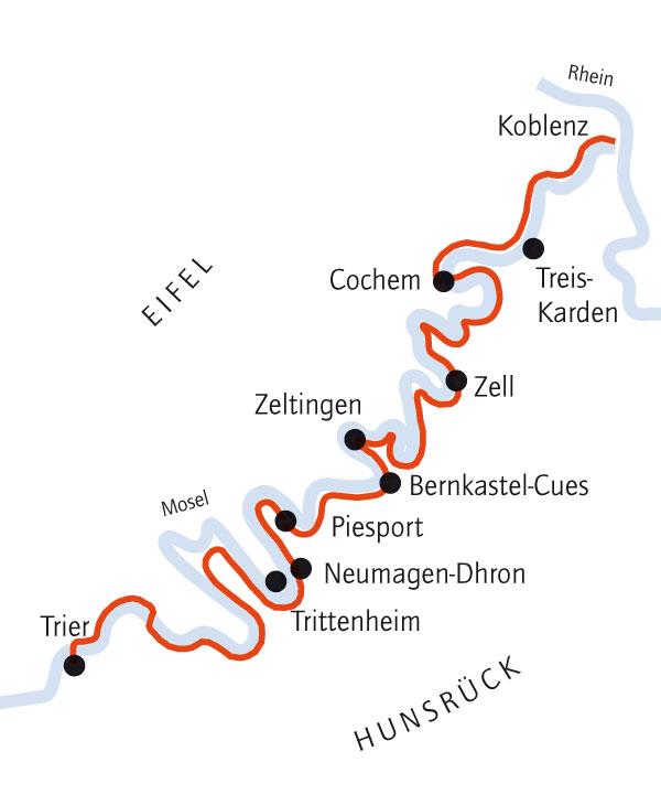 Mosel Radweg Karte Pdf.Mosel Radweg Rad Touren Teufel